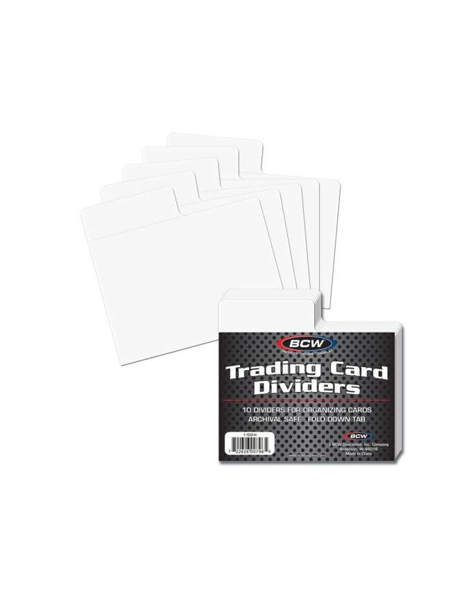 1 tcd h 1 trading card dividers   horizontal