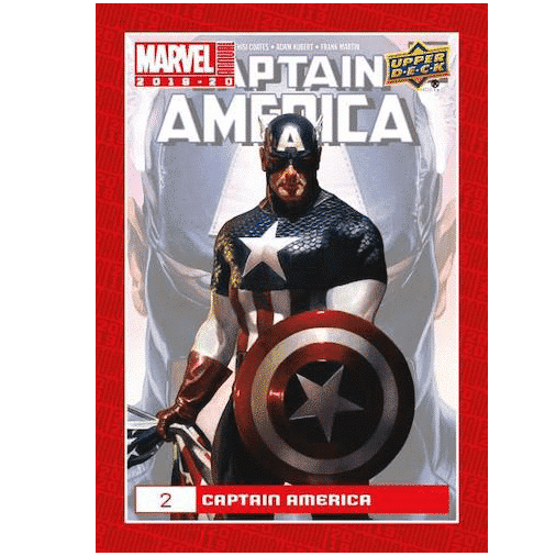 2019 20 Upper Deck Marvel Annual Trading Cards Base 2 Captain America
