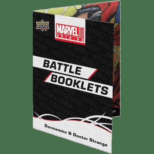 2019 20 Upper Deck Marvel Annual Trading Cards Battle Booklets