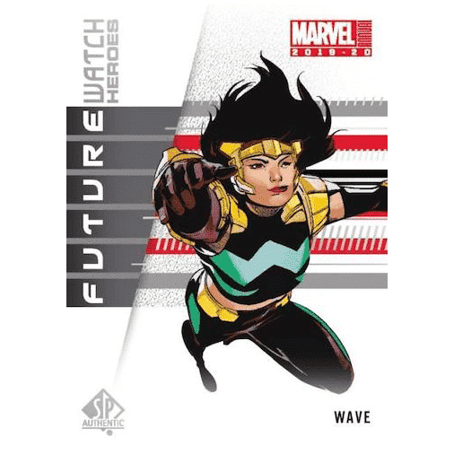 2019 20 Upper Deck Marvel Annual Trading Cards Future Watch Heroes Wave