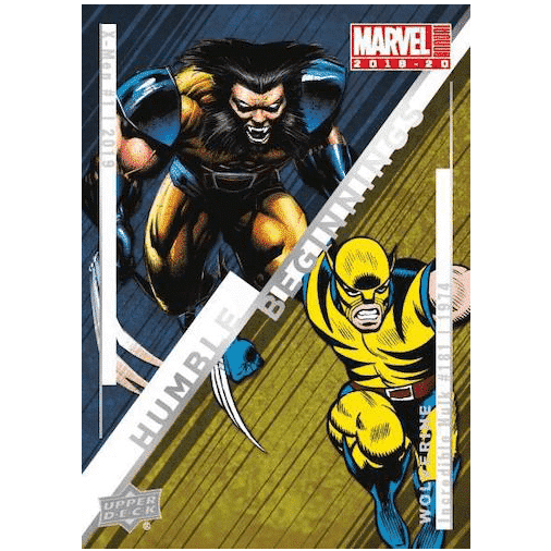 2019 20 Upper Deck Marvel Annual Trading Cards Humble Beginnings Wolverine