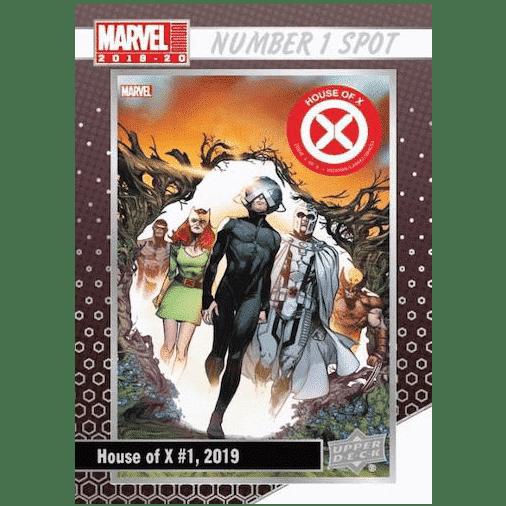 2019 20 Upper Deck Marvel Annual Trading Cards Number 1 Spot