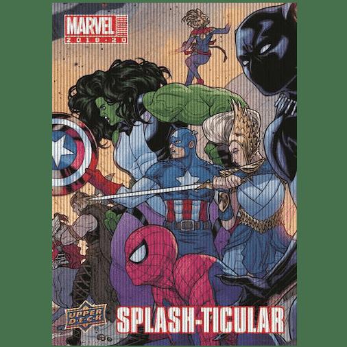 2019 20 Upper Deck Marvel Annual Trading Cards Splash Ticular