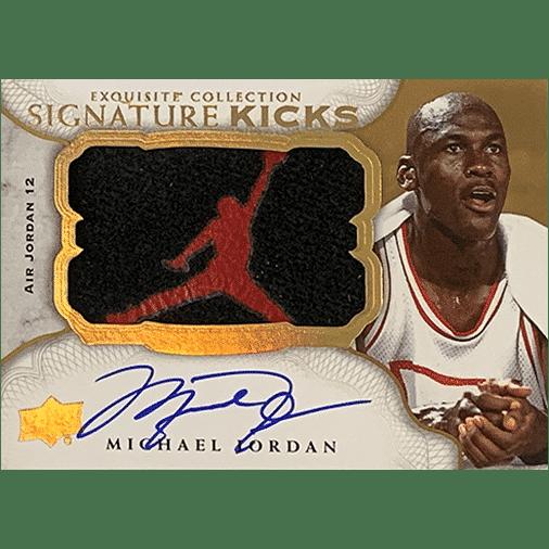 2019 Upper Deck Goodwin Champions Exquisite Signature Kicks Michael Jordan