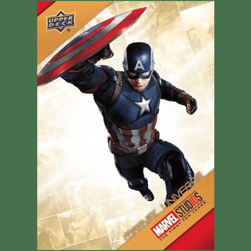 2019 Upper Deck Marvel Studios First 10 Years Marvel Universe Captain America
