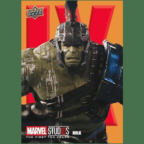 2019 Upper Deck Marvel Studios First 10 Years Roman Numerals Hulk