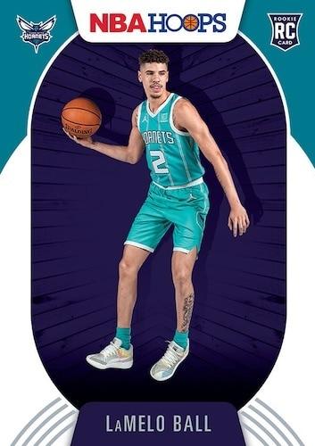 2020 21 Panini NBA Hoops Basketball Base Rookie Lamelo Ball RC