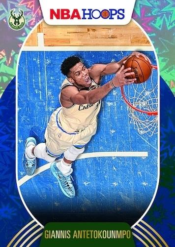 2020 21 Panini NBA Hoops Basketball Cards Base Blue Explosion Retail Giannis