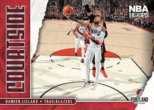 2020 21 Panini NBA Hoops Basketball Cards Courtside Damian Lillard