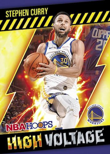 2020 21 Panini NBA Hoops Basketball Cards High Voltage Stephen Curry
