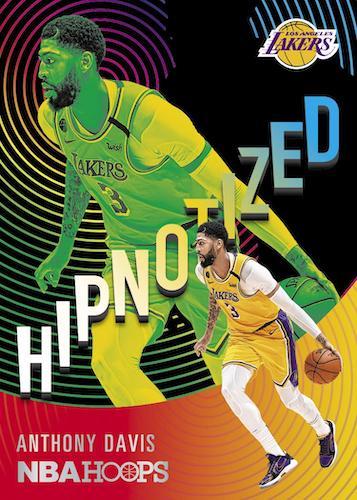 2020 21 Panini NBA Hoops Basketball Cards Hipnotized Anthony Davis