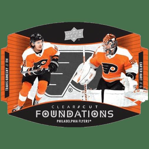 2020 21 Upper Deck Series 1 Hockey Cards Clear Cut Foundations