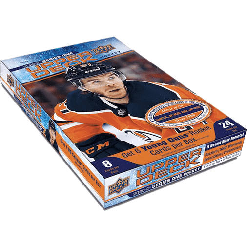 2020 21 Upper Deck Series 1 Hockey Cards Hobby box