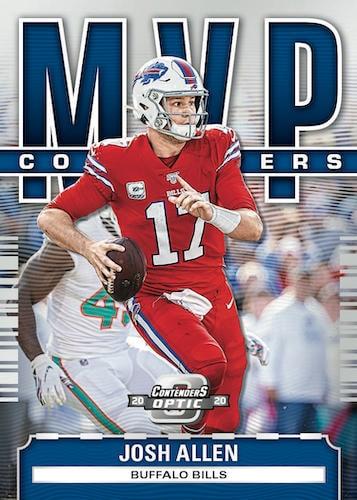 2020 Panini Contenders Optic Football NFL Cards MVP Contenders Josh Allen