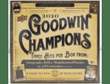2020 Upper Deck Goodwin Champions Hobby Box 1