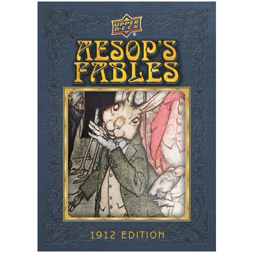 2020 Upper Deck Goodwin Champions Trading Cards Aesops Fables Illustration Relics