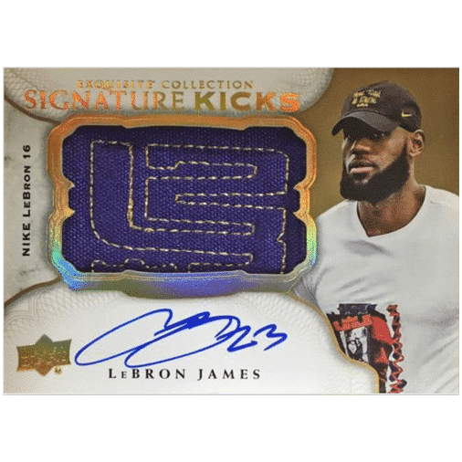 2020 Upper Deck Goodwin Champions Trading Cards Exquisite Collection Signature kicks