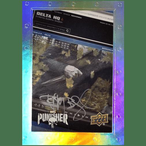 2020 Upper Deck The Punisher Season 1 Trading Cards Episodic Art Artist Autographs TIM BRADSTREET