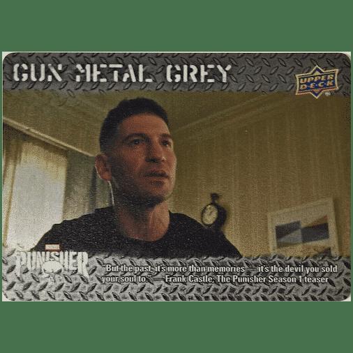 2020 Upper Deck The Punisher Season 1 Trading Cards Gun Metal Grey