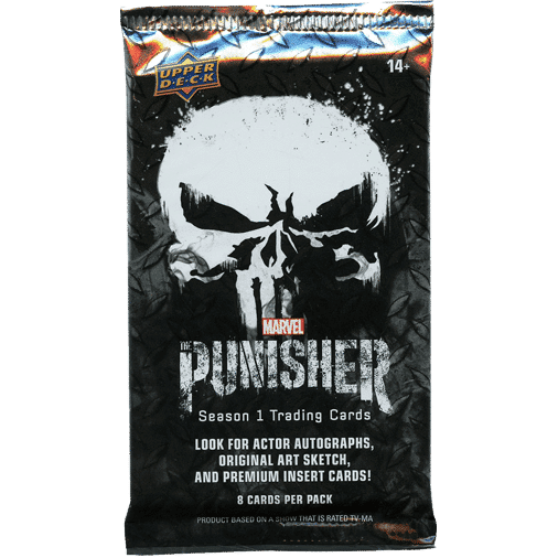 2020 Upper Deck The Punisher Season 1 Trading Cards Pack