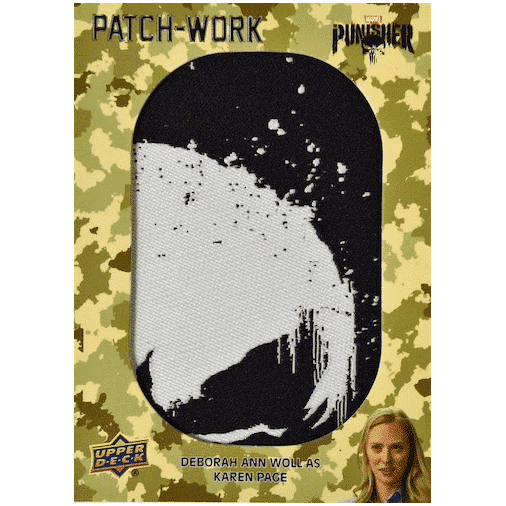 2020 Upper Deck The Punisher Season 1 Trading Cards Patch Work Puzzles Manufactured Patch