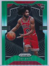 Coby White Panini Prizm 2019 20 Base RC Green 1 scaled