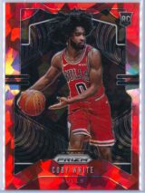 Coby White Panini Prizm 2019 20 Base RC Red Ice 1 scaled