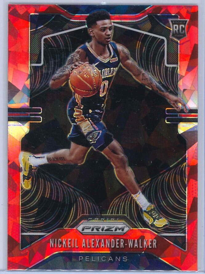 Nickeil Alexander Walker Panini Prizm 2019 20 Base RC Red Ice 1 scaled