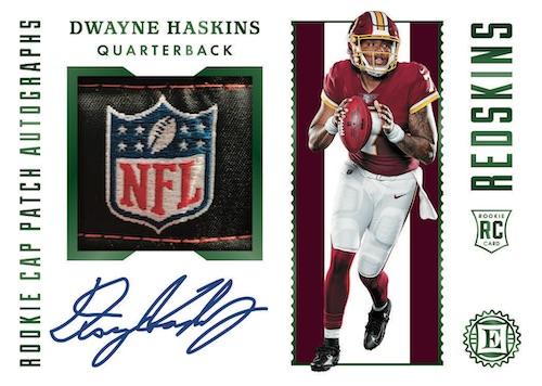 2019 Panini Encased Football NFL Cards Rookie Cap Patch Autographs Dwayne Haskins