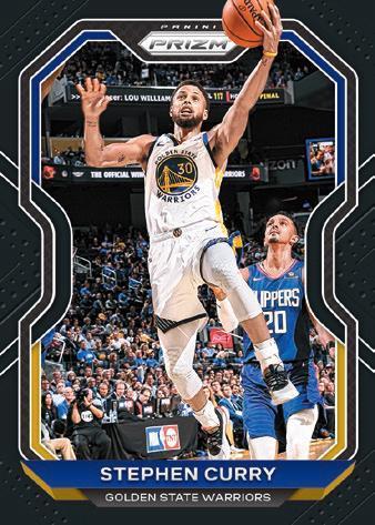 2020 21 Panini Prizm Basketball Cards Base Black Prizms Stephen Curry