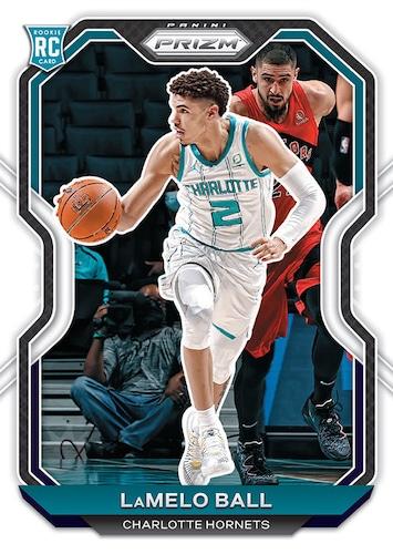 2020 21 Panini Prizm Basketball Cards Base Lamelo Ball RC