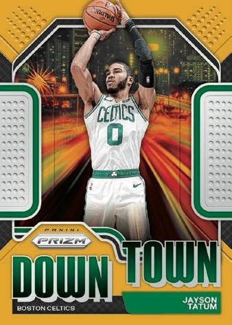2020 21 Panini Prizm Basketball Cards Downtown Bound Jayson Tatum