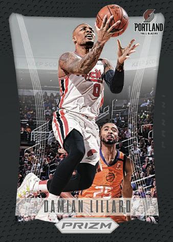2020 21 Panini Prizm Basketball Cards Prizm Flashback Damian Lillard