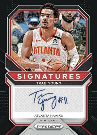 2020 21 Panini Prizm Basketball NBA Cards Signatures Trae Young auto