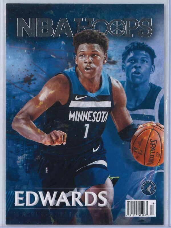 Anthony Edwards Panini Hoops 2020 21 Rookie Special 1 scaled