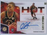 Cassius Stanley Panini Hoops 2020 21 Hot Signatures Rookie RC Auto 1 scaled