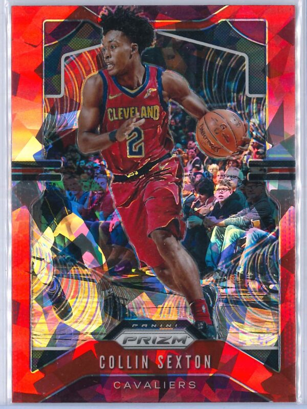 Collin Sexton Panini Prizm 2019 20 Base 2nd Year Red Ice 1 scaled