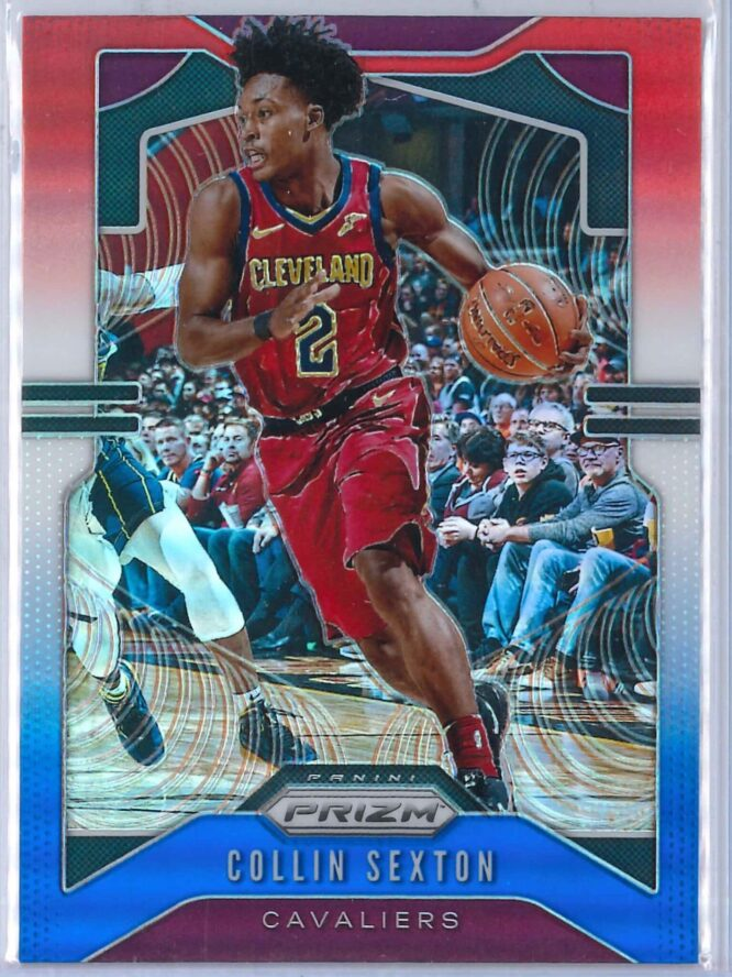 Collin Sexton Panini Prizm 2019 20 Base 2nd Year Red White Blue 1 scaled