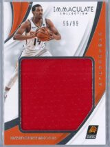 De Anthony Melton Panini Immaculate 2018 19 Remarkable 5599 Rookie Patch 1 scaled