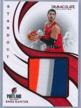 Enes Kanter Panini Immaculate 2018 19 Standout Red 0425 4 Color Patch 1 scaled