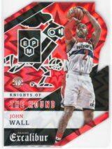 John Wall Panini Excalibur 2015 16 Kaboom Die Cut SSP 1 scaled