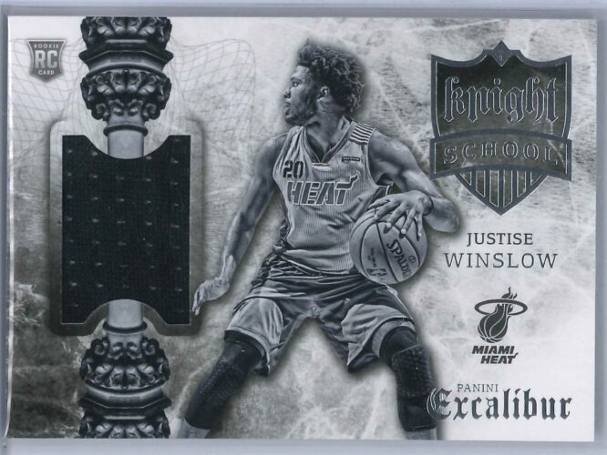 Justice Winslow Panini Excalibur 2015 16 Knight School RC Patch 1 scaled