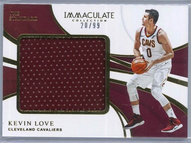 Kevin Love Panini Immaculate 2018 19 The Standard 2099 1 scaled