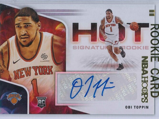 Obi Toppin Panini Hoops 2020 21 Hot Signatures Rookie RC Auto 1 scaled