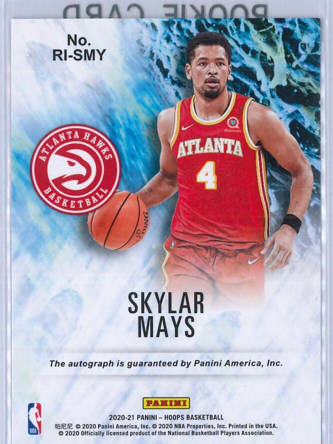 Skylar Mays Panini Hoops 2020 21 Rookie Ink RC Auto 2 scaled