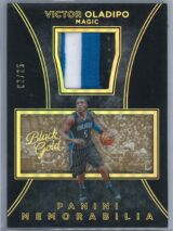 Victor Oladipo Panini Black Gold 2015 16 Patch Gold 0225 1 scaled