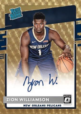 2020 21 Donruss Optic Basketball NBA Cards Rated Rookie Signatures Gold Vinyl
