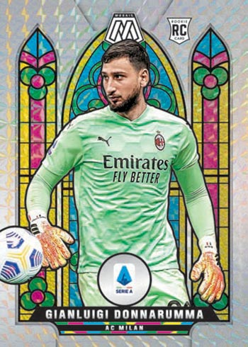 2020 21 Panini Mosaic Serie A Stained Glass
