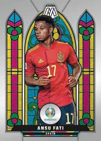 2020 21 Panini UEFA Euro 2020 Mosaic Soccer Stained Glass