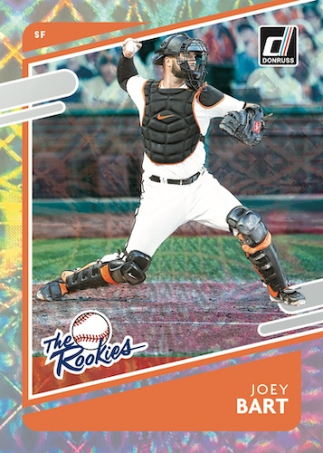 2021 Donruss Baseball Cards The Rookie Silver Joey Bart RC